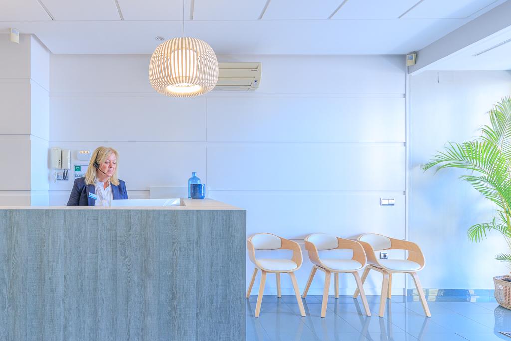 Recepción | Centro Gutenberg - Clínica ginecológica en Málaga