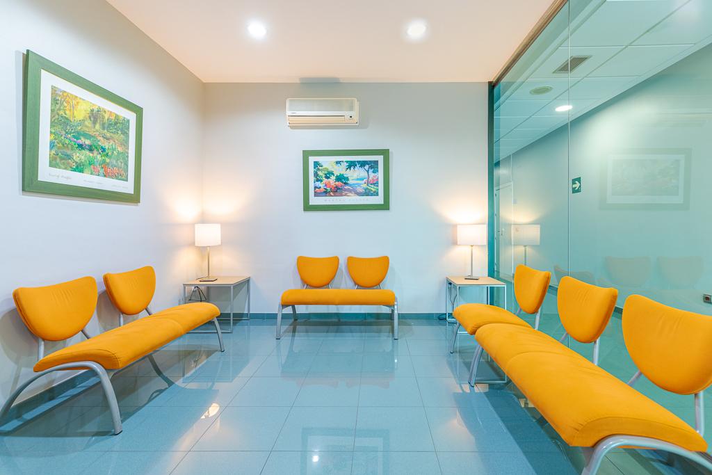 Sala de espera | Centro Gutenberg - Clínica ginecológica en Málaga